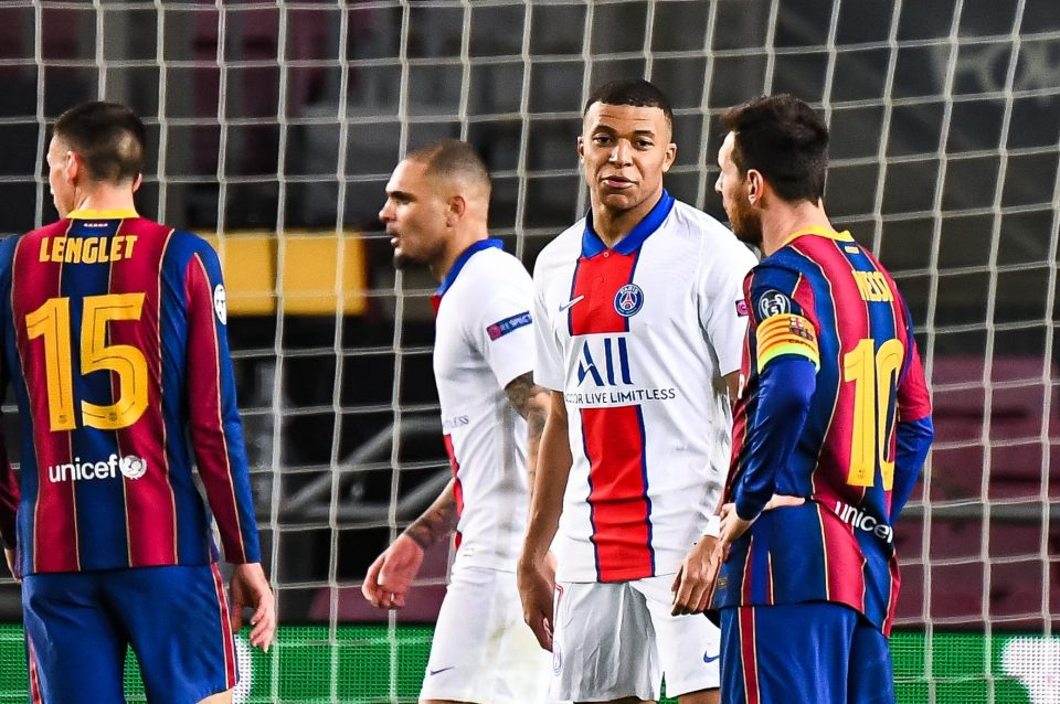 Leo Messi was eclipsed by Mbappe at Camp Nou