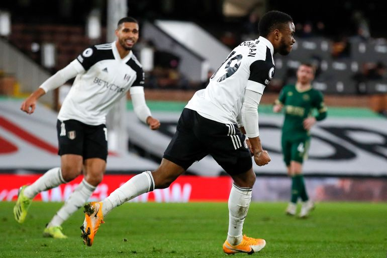 Ademola Lookman scored the only goal of the match for Fulham