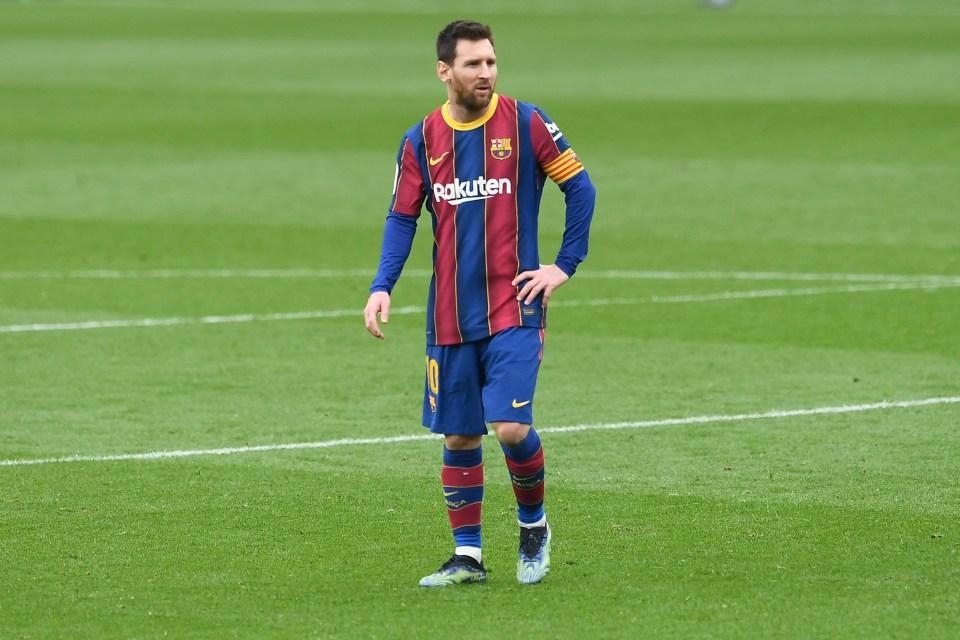 Messi Rekor