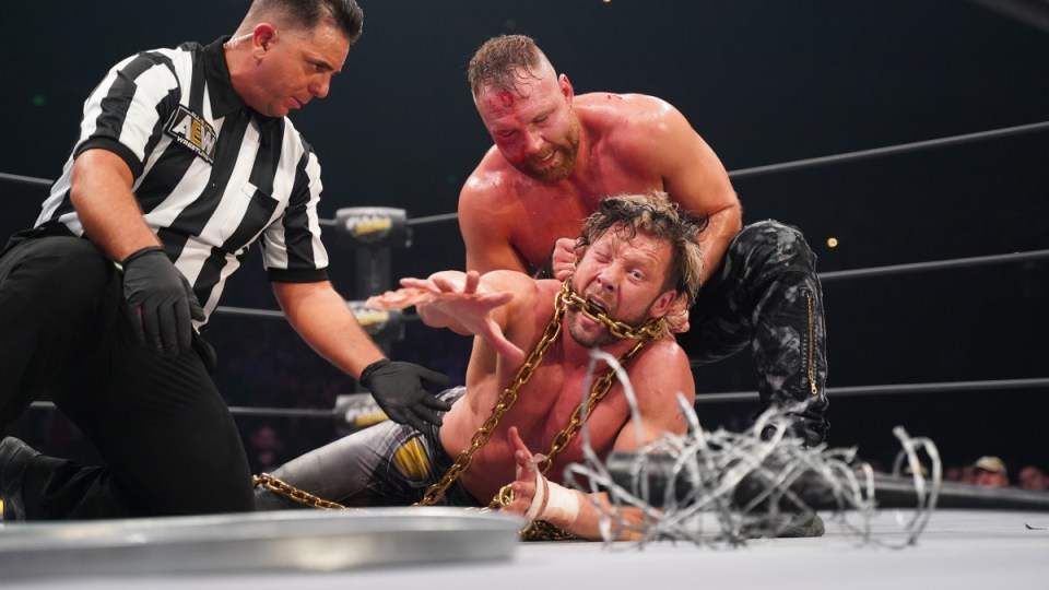 Kenny Omega and Jon Moxley to take things up a notch