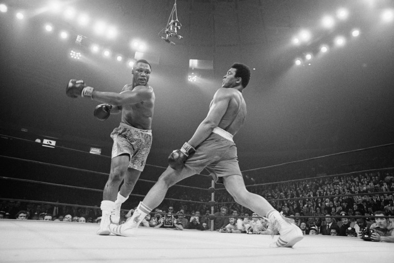 Ali had three legendary fights with Frazier, the first of which is known as 'The Fight of the Century' in New York at the legendary Madison Square Garden