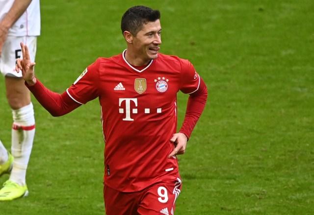 Robert Lewandowski will miss Bayern Munich's first leg against PSG