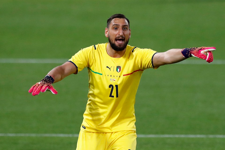 Donnarruma appears to be the ideal successor to Gianluigi Buffon, who played between Italy's sticks for over 20 years