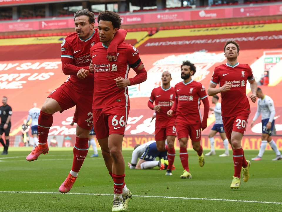 Liverpool are still looking for the top four places despite disappointing season
