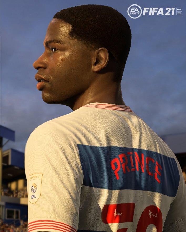 Kiyan Prince, QPR'nin FIFA 21 kadrosuna eklenecek