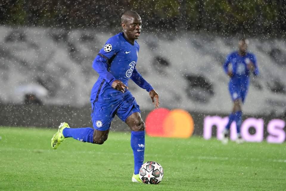 Kante led the Chelsea midfielder against Real Madrid last week