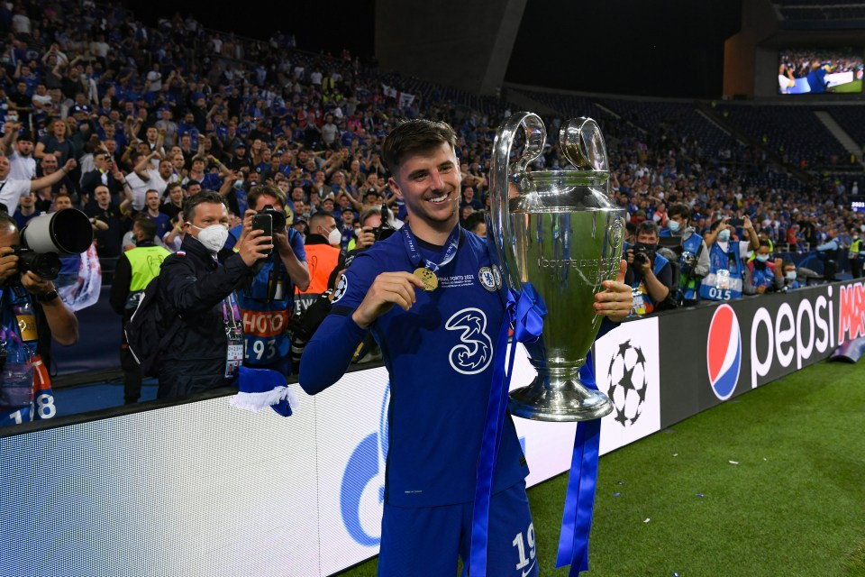 Mount closed a remarkable season by winning the Champions League with Chelsea