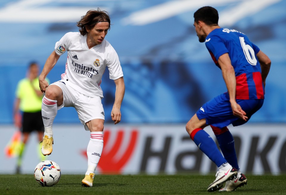 Modric has won 16 trophies at Real Madrid, including four Champions Leagues, and is now aiming for Euro success with Croatia