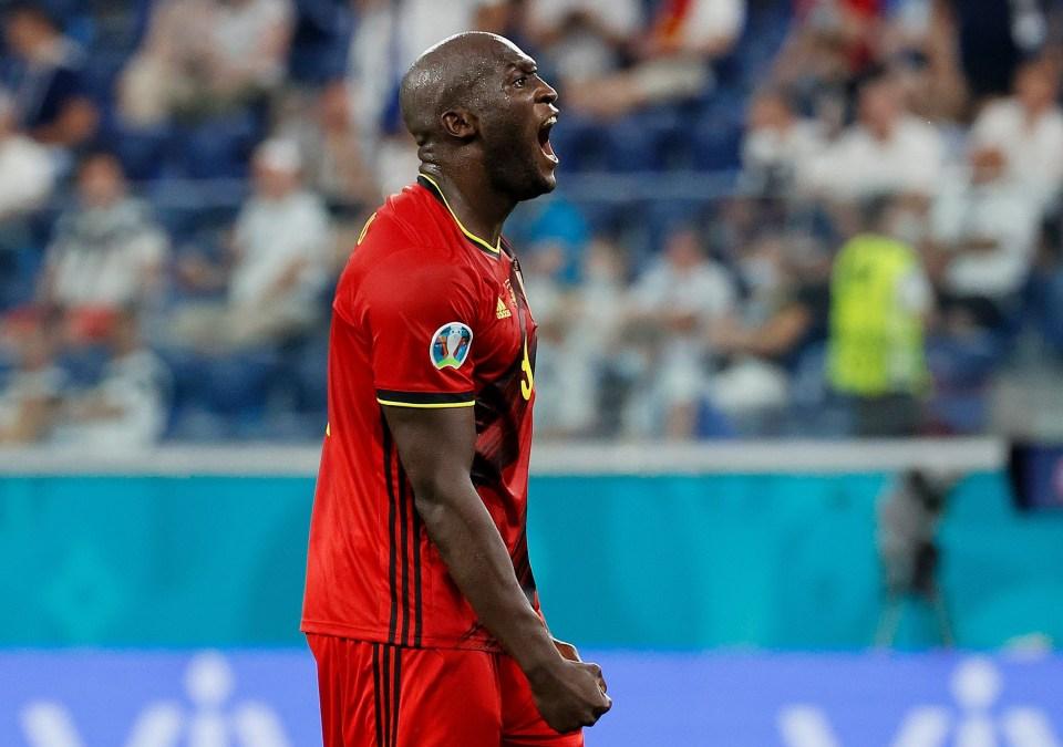 Lukaku played for Belgium at Euro 2020, scoring four goals