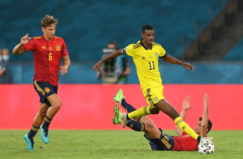 Isak has impressed for Sweden