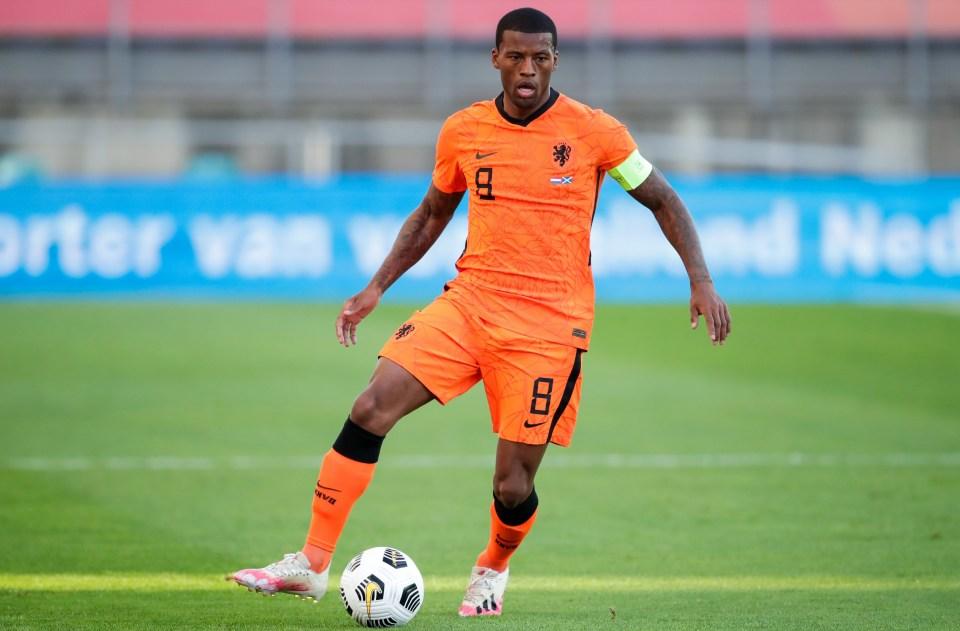 Wijnaldum to represent the Netherlands at Euro 2020