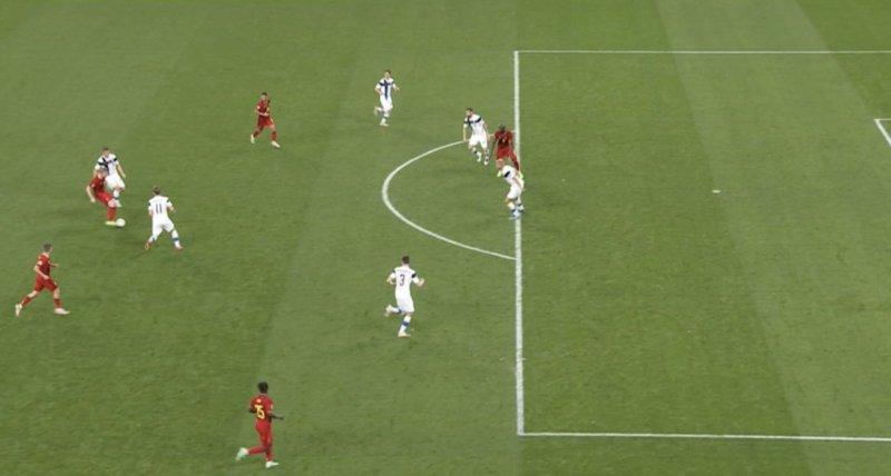 Lukaku was adjudged to be offside