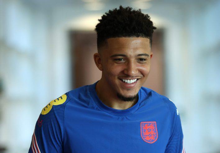 Sancho, EURO 2020 için İngiltere ile birlikte ama transfer hikayesi turnuva boyunca devam ediyor