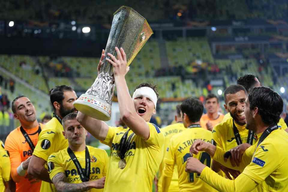 Villarreal won the Europa League last season, beating Man United in the final