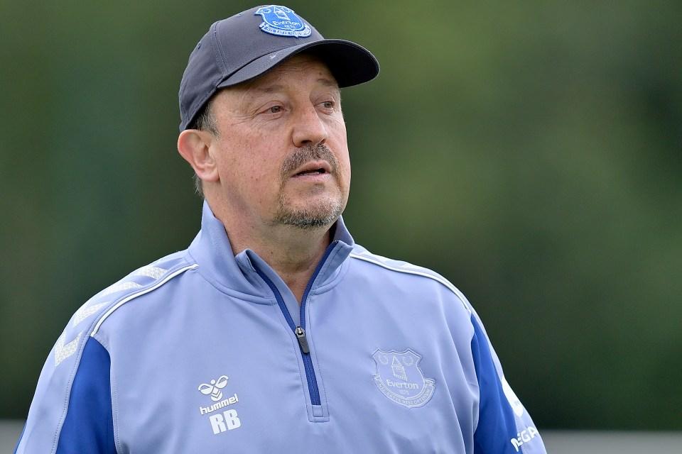 Rafa Benitez's Everton host Southampton this weekend