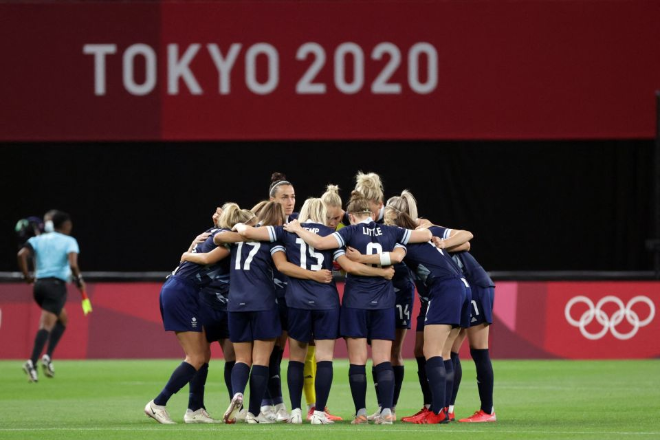 The best result that Great Britain has achieved in women's football is the quarter-finals, which were achieved in London 2012