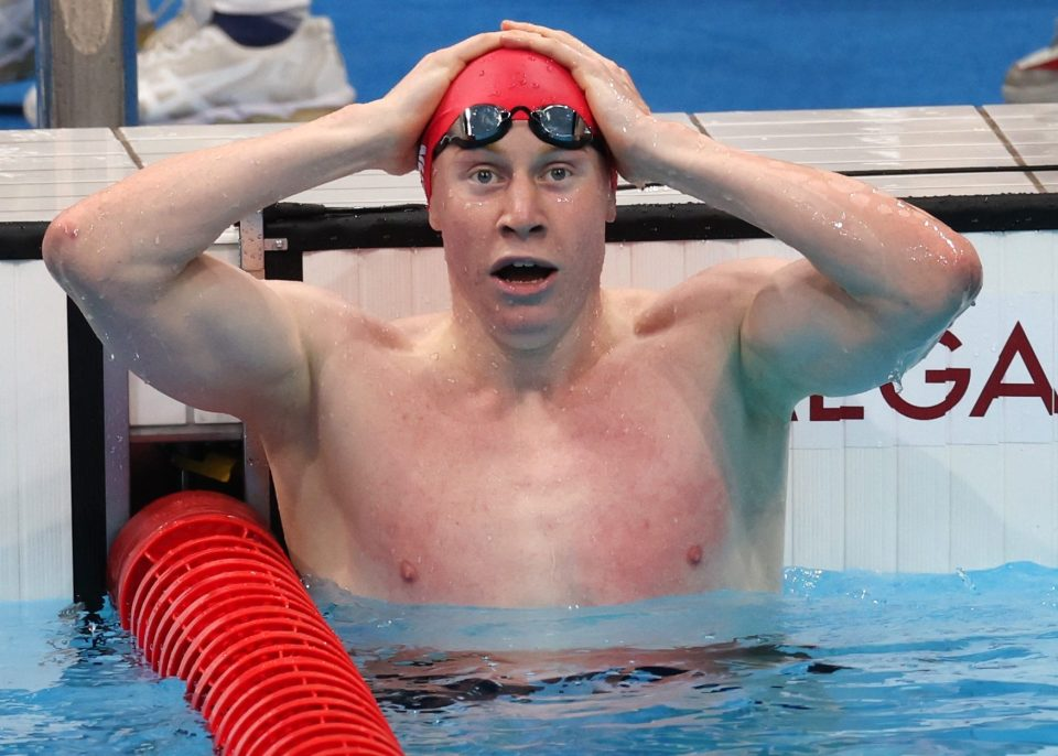 Dean couldn't believe it when he realised he was an Olympic champion