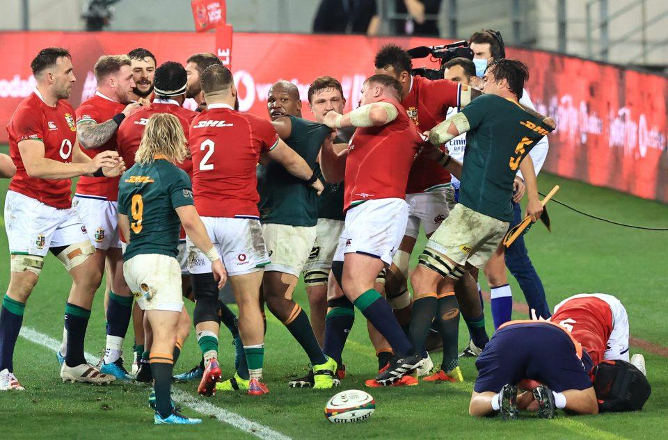 Kolbe's dangerous play sparked a big brawl