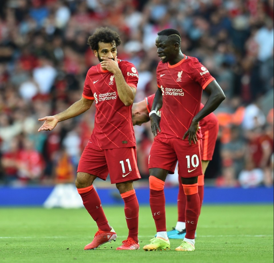 Salah and Mane are both set to feature in the African Cup of Nations