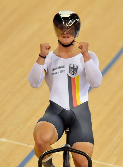 Remembering the 2012 London Olympic observe bicycle owner nicknamed 'quadzilla' following the picture of the thigh went viral and he received a bronze medal on the velodrome