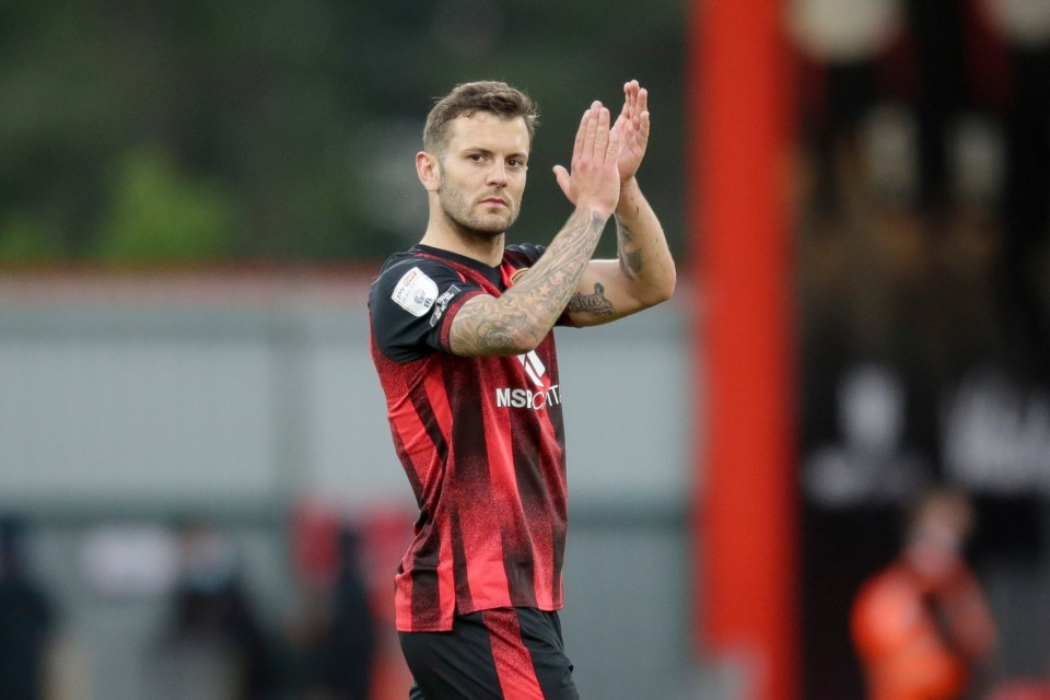 Wilshere became a free agent after leaving Bournemouth earlier this year