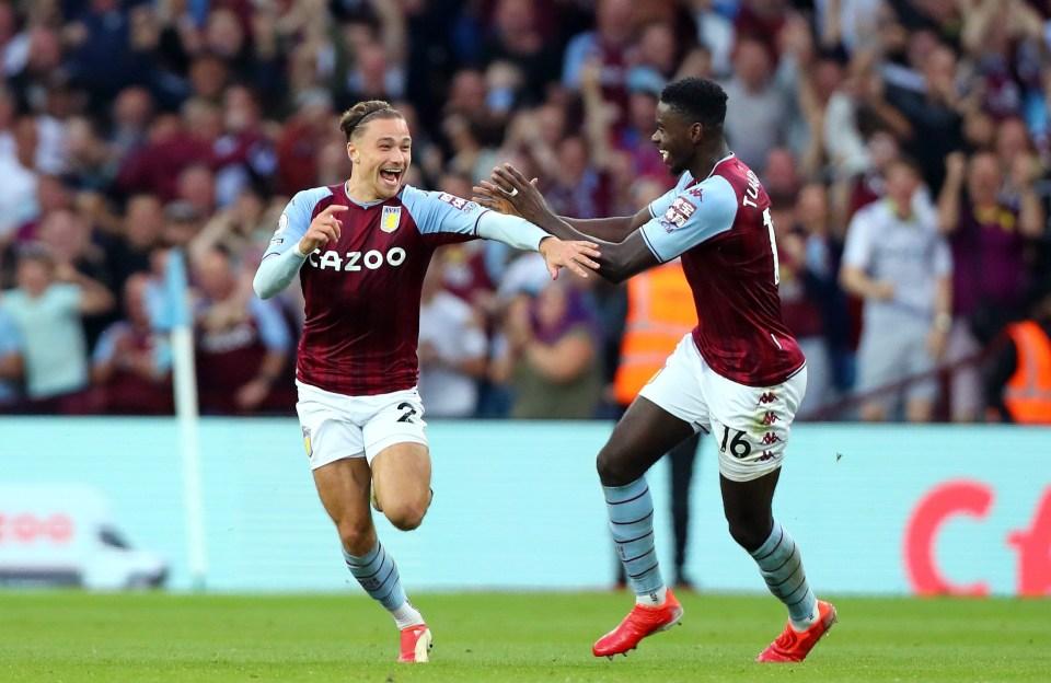 Cash scored a mind-blowing goal for Villa against Everton last weekend