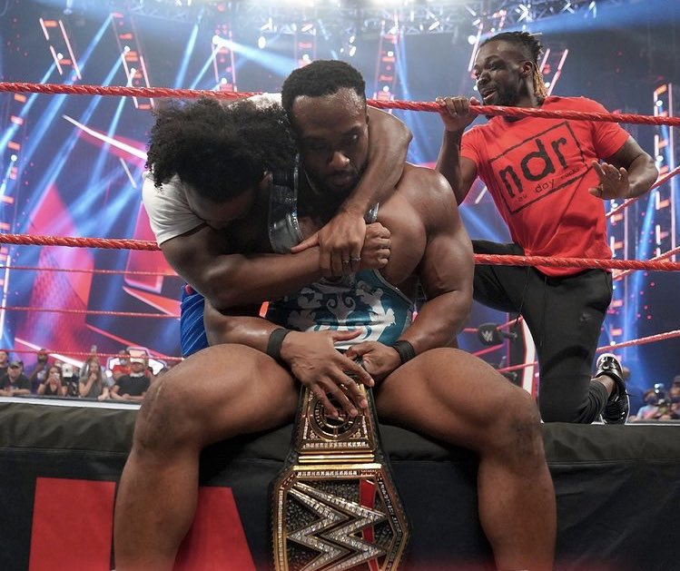 Big E finally reached the top in WWE