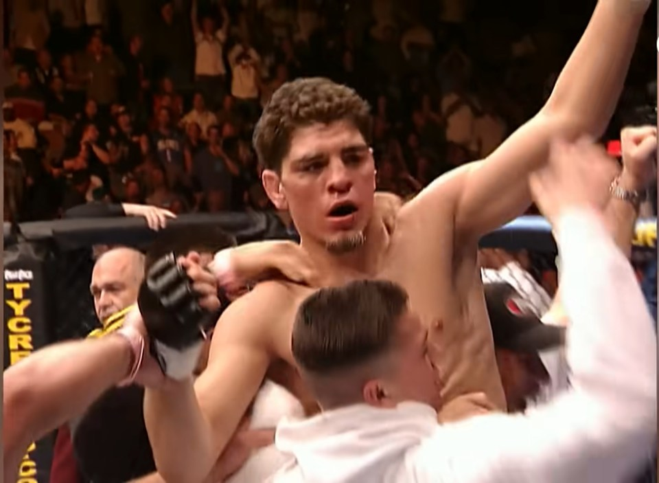 Diaz introduced himself to the world at UFC 47 with victory over Lawler