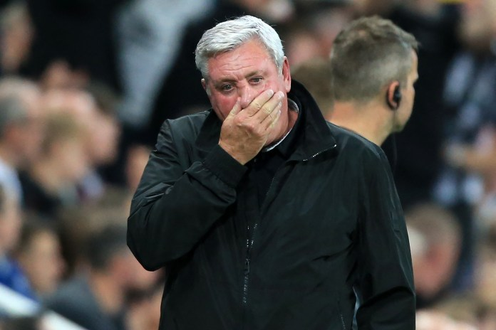 Steve Bruce will likely be the first casualty at Newcastle