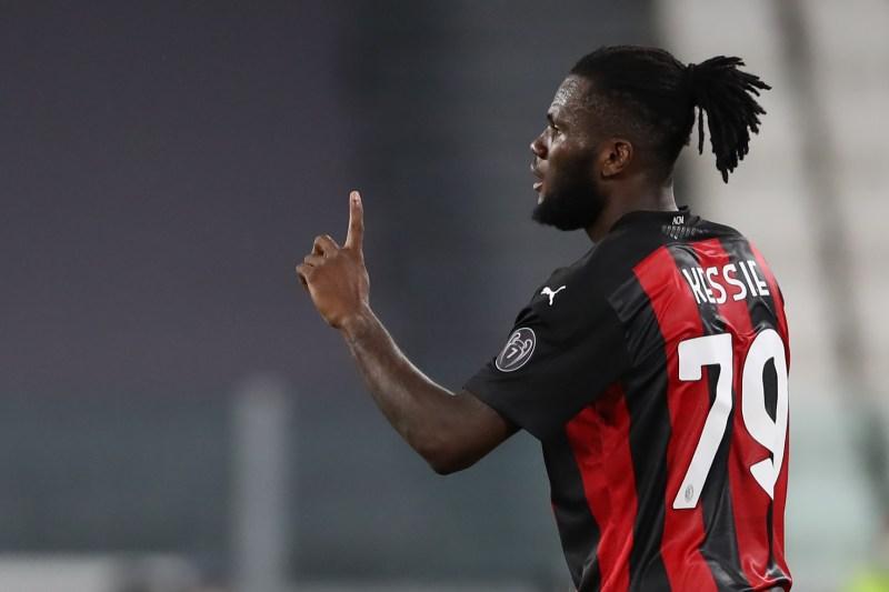 AC Milan's No.79 Franck Kessie has become one of Europe's best midfielders