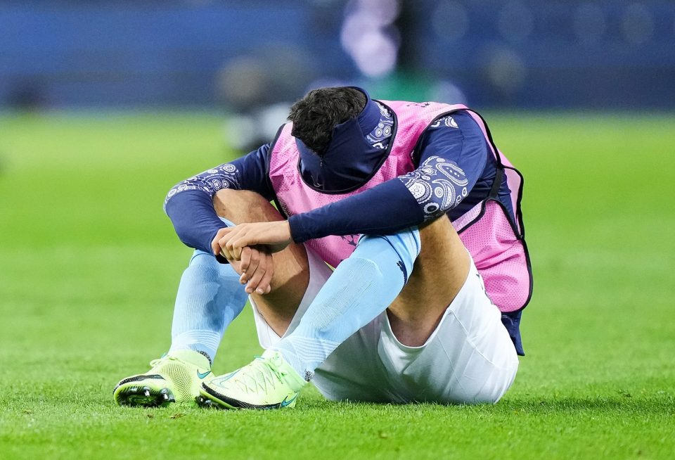 Rodri could not talk to family or friends after the defeat