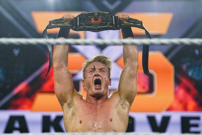 Ilja Dragunov won the NXT UK title at NXT TakeOver 36