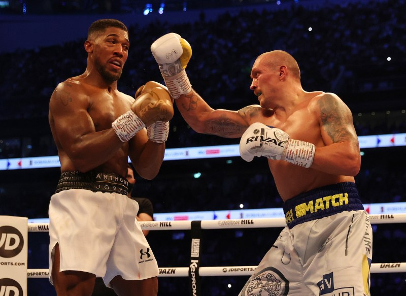Usyk outboxed Joshua to win by unanimous decision