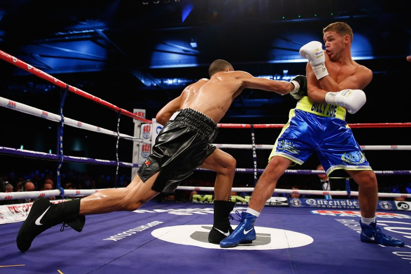 Saunders cruised to a decision win at the ExCel when he fought Eubank Jr in 2014