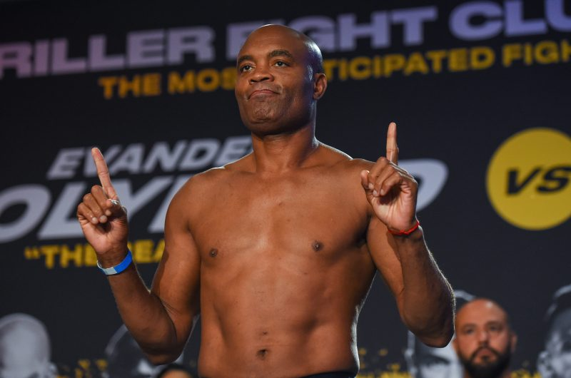 Silva looks like a new man since leaving the UFC a year ago