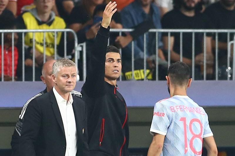 Ronaldo's 'coaching' of his teammates hasn't gone down well