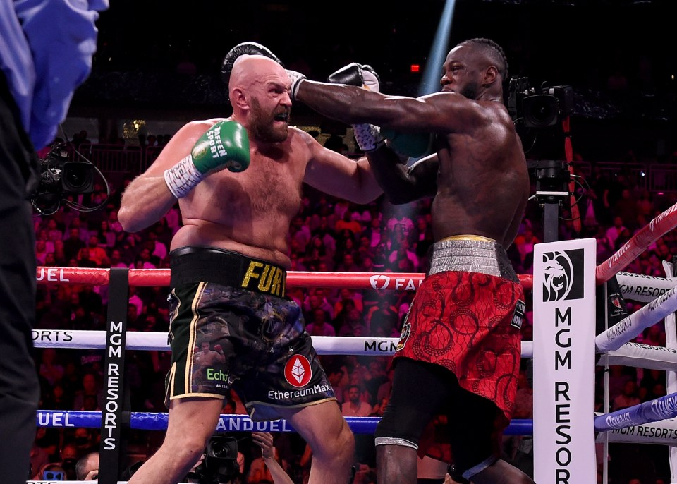Fury and Wilder served up an all-time classic