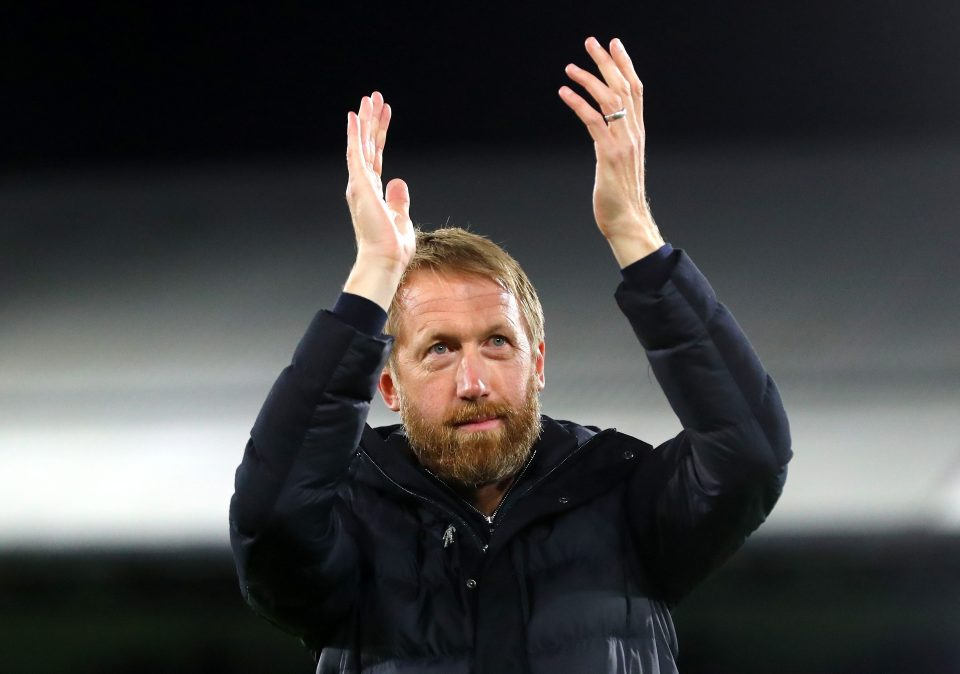 Graham Potter has been tipped to be the next England manager
