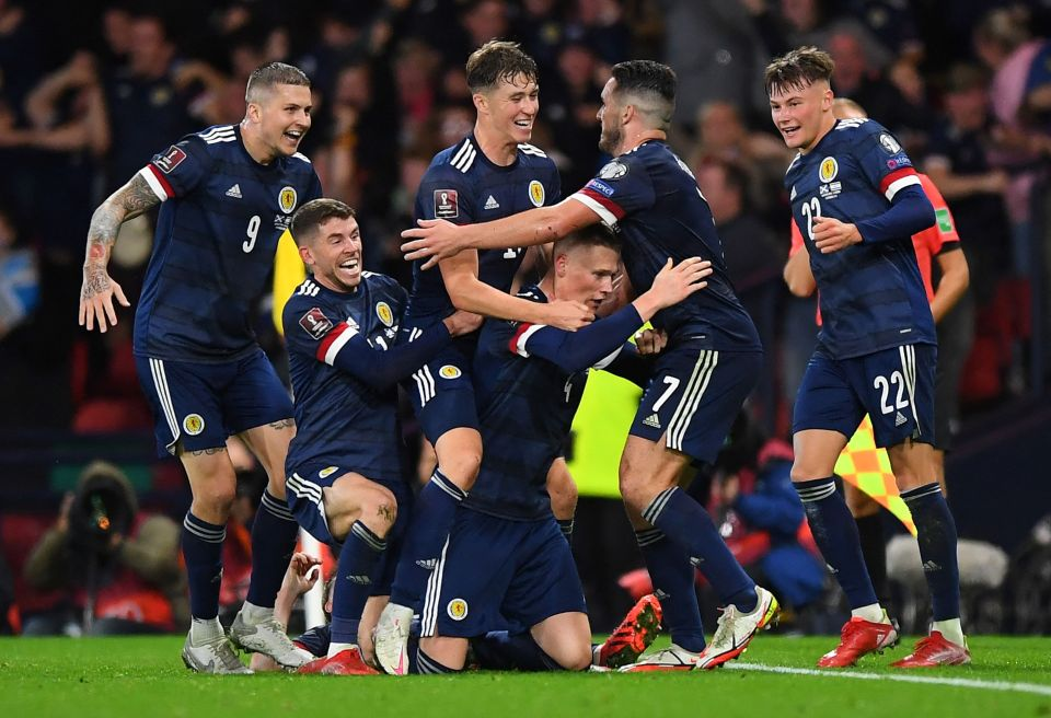 Nathan Patterson was as delighted as anyone when Scotland equalised for the second time