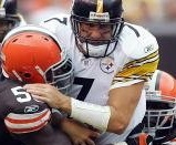 Roethlisberger Sacked 8 Times