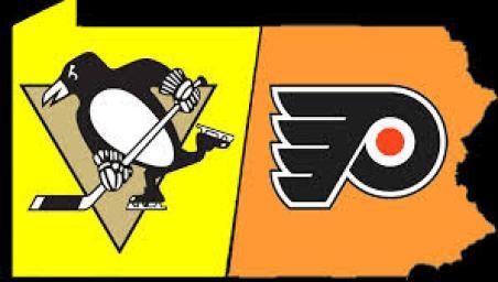 Pittsburgh Penguins goalie Matt Murray (30) blocks a shot as Justin Schultz  (4