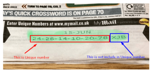 daily mail rewards, mail rewards, daily mail, mail rewards login, unique number,