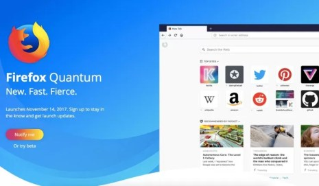 FireFox Quantum Browser is Faster Than Google Chrome; DOWNLOAD HERE!