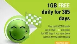 Free 1GB Daily Data on Smile 4G Network