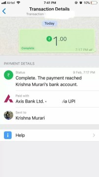 WhatsApp Request Money From Friends Feature