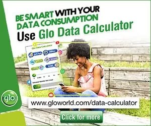 Globacom Introduced Glo Data Calculator; Customers to Get Estimated Monthly Data Usage