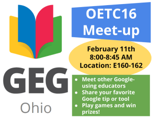 GEG Ohio Meet-up - OETC16