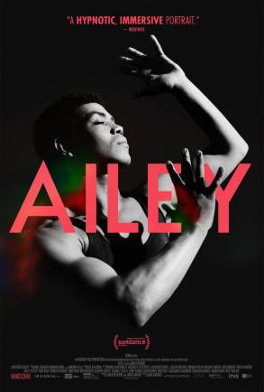 AILEY documentary small poster