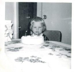 My third birthday