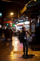 Unfortunate to see beggars on the street but it's a common sight in China.